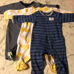Bundle of Carter's bodysuit
